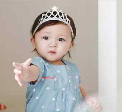 1Pc Girls Princess Headbands Baby HairBands Crown Tiara Toddler Girl Hair Tiaras