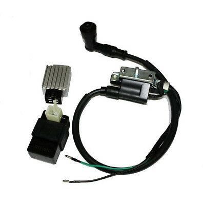 Regulator 90 110cc 125cc Pit Quad Dirt Bike Atv Buggy Hearty Ignition Coil Cdi Unit