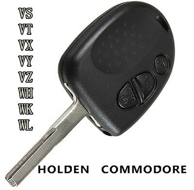 3 BUTTONS REMOTE KEY FOB CASE SHELL for VS WH WK WL VT VX VY VZ HOLDEN COMMODORE