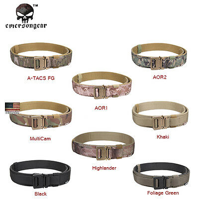 EMERSON 1.5 Inch Tactical Hard Belt Military Shooter Airsoft Hunting 1000D 9250