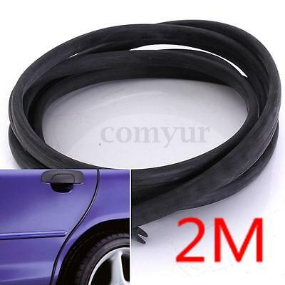 2M Moulding Trim Strip Car Door Scratch Protector Edge Guard Styling For AUDI VW