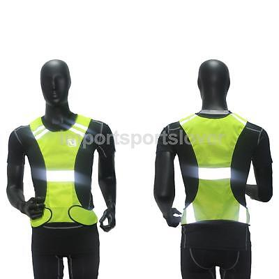 High Visibility Reflective Safety Vest For Fitness Running / Walking Outdoor