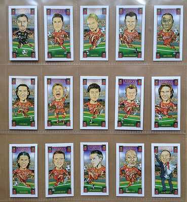 Liverpool Fc 2005 Champions' League Winners Complete Card Set