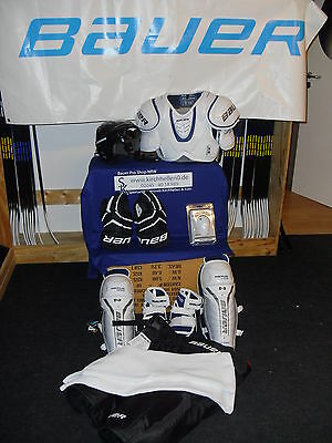 9 tlg.Komplettset Eishockey Bauer-CCM-RBK-Warrior-Easton Senior L ca. 174-185cm