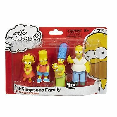 New The Simpsons Family 4 Figure Pack