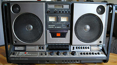 Radio portable cassette / BOOMBOX SENCOR S-4800 : fonctionne (working condition)