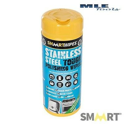 Smaart Stainless Steel Tough Polishing Wipes 40pk kitchen cleaner 320591