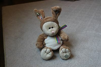 Starbucks Bearista Bunny Bear Rabbit Plush Easter Stuffed Plush Animal 2008