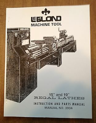 leblond regal lathe instruction parts manual bull picclick leblond regal lathe instruction parts manual