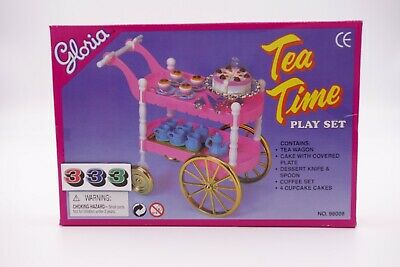 Gloria,Barbie Size Doll House Furniture/(98008) Tea Time
