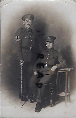 WW1 OFFICER N McFarlane RAMC Royal Army Medical Corps in France on