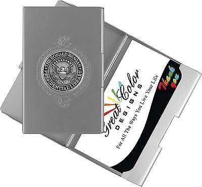 President Ronald Reagan Library RFID Blocking Business Credit Card Holder Case