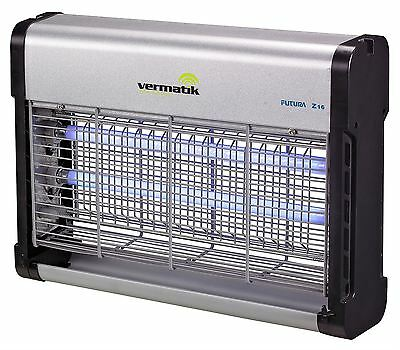 Vermatik 16W Electric Fly Insect Bug Killer UV Light Fly Control Zapper