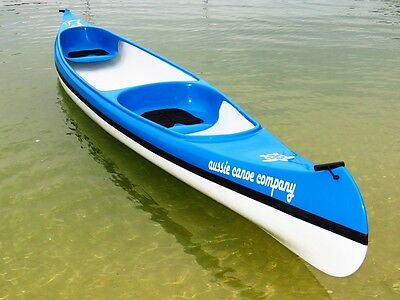The Aussie Canoe Company - 5m Fibreglass Double Canoe - 100% Aussie Made
