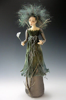 """*new* Cloth Art Doll (E-Pattern) """"silvanna"""" By Cindee Moyer"""