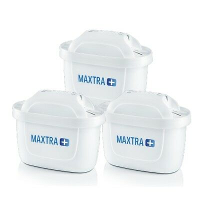 3x Genuine Brita Maxtra+ Water Filter Cartdriges Vacuum  Package