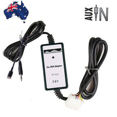 Car MP3 Interface AUX Input Adapter Phone Charger For Mazda 2 3 6 MPV SPD CX7 AU