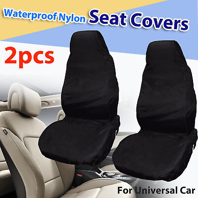 2x Universal Car Cubierta Asiento Fundas Sillas Impermeable Coche Protector Auto