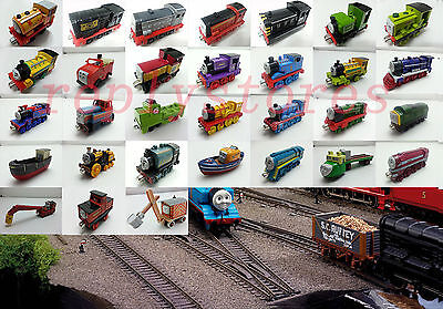 Mattel Thomas & Friends Railway Engine Magnetic Metal Toy Train Loose #1