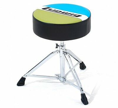 Ludwig Atlas Classic Round Drum Throne Stool Seat LAC49TH Blue Olive throne
