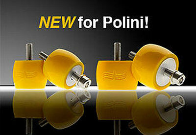 Viking PPG Poly M8 Motor Mounts for Polini Paramotors -  Yellow Color