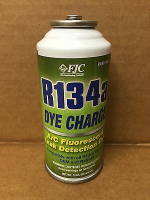 Genuine FJC 4921 R134A Fluorescent Dye Charge 3 oz. R134a Leak Detector