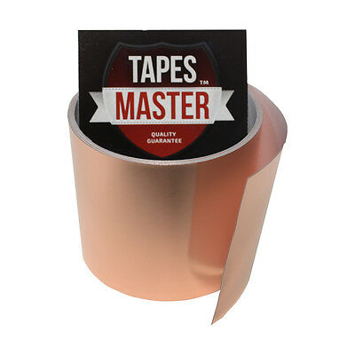 """Copper Foil Tape - 3"""" X 10ft -  EMI Conductive Adhesive / Ship from USA"""
