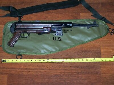 M60Case Bag Weapon Carry Field Folder Military Army USMC Green w Shelby P38
