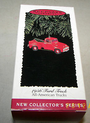 1956 Ford Truck All-American Truck Series #1 Keepsake Ornament 1995 MIB