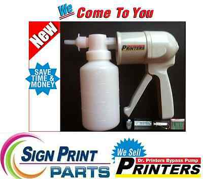 DX7 & DX5 Head Cleaning Kit - DRY INK Cleaning Pump, ROLAND-MUTOH-MIMAKI-EPSON