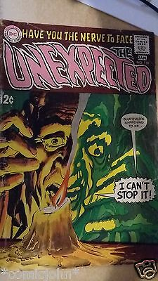 The Unexpected Issue # 110. Jan.1969. Gd.  Dc Silver Age. Neal Adams Art