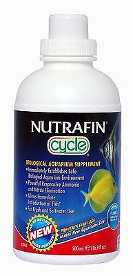 Nutrafin A7904 Cycle Biological Filter Supplement 17-Ounce NutraFin