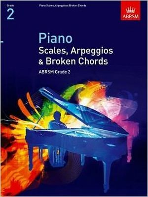 ABRSM Piano Instruction Books, Scales, Argeggios & Broken Chords