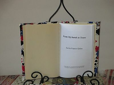 "Card Magic Book, Rare, Numbered Limited Edition ""From My Hands To Yours"""