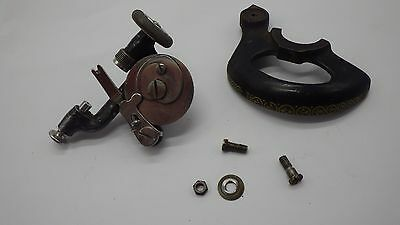 Vintage SINGER Sewing Machine Model 127 Bobbin Winder 8261 & Belt Guard