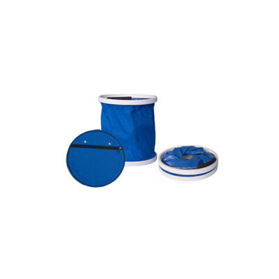 "Dark Blue ""Presto Bucket"" Lightweight Collapsible Bucket by Garden Works"