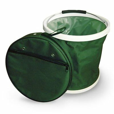 "Dark Green ""Presto Bucket"" Lightweight Collapsible Bucket by Garden Works"