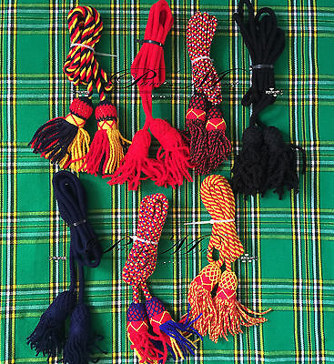 Army Bugle Wool Cord Various Colors/Bb Bugle Cord/British Bugle Cord Wool BB