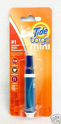 1 PEN Tide To Go Mini #1 INSTANT STAIN REMOVER Food Coffee Work Travel 3.5 mL