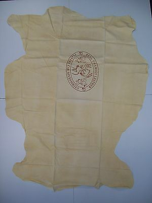 New Heavy Duty Natural Real Leather Chamois Super Large 66cm x 59cm