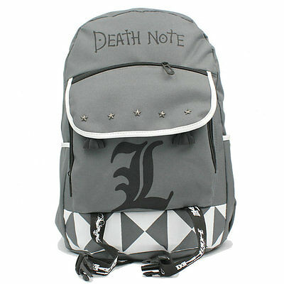 Death Note L JP Japanese anime cosplay Bag Backpack Schoolbag New