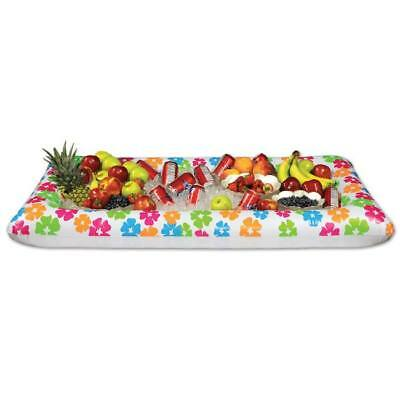 "Luau Party Inflatable Buffet Cooler 28"" x 54"""