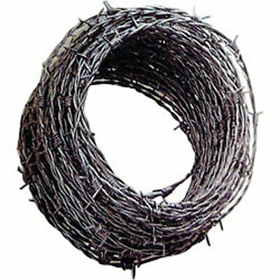 Barbed Wire 30m Strong Garden Wire Fencing Security 30 Metres