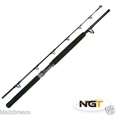 Boat Pro 6Ft 30Lbs Class Boat Rod 2 Pcs Sea Fishing Cod Bass Pollack Conger Ling