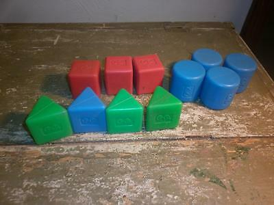 Vintage Fisher Price Shape Sorter Baby's First Blocks 414 Replacement Choice