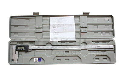"24""x0.0005"" Heavy Duty Electronic Digital Caliper w/ Fine Adjusment, #AB11-3660"