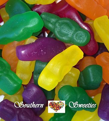 1Kg Jelly Babies Yellow Red Green Orange Purple Mix Lollies Gummy Gummies