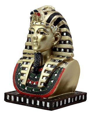 Ancient Egyptian Civilization King Tut Pharaoh Figurine Bust Statue Collection