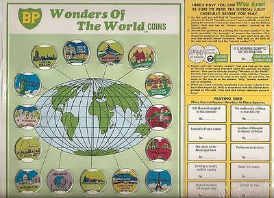 1969 Coins ... Wonders of the World --  BP gas