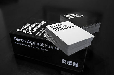 BRPG Carte Against Humanity 550 Card Full Base Set Pack Party Gioco Yoka Nero